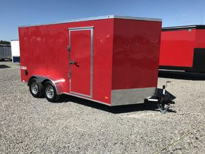 2021 7 x 14 BRAVO BUMPER PULL ENCLOSED CARGO TRAILER for Sale in North Jackson, OH