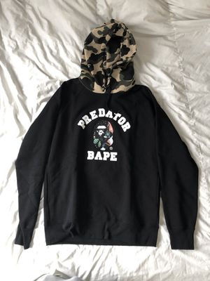 Predator Bape Hoodie size XL (US size L) (Brand New) for Sale in Glendale, CA