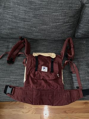 Ergo Baby Carrier in Maroon for Sale in Boston, MA
