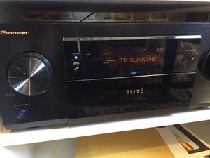 Pioneer Elite 7.1 Channel THX A/V Receiver with HDMI for Sale in Portland, OR