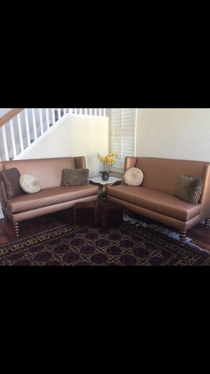 Golden couch for Sale in San Diego, CA