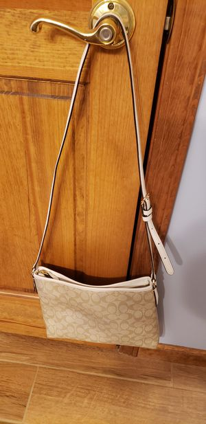 Coach coated cotton cross body bag for Sale in Fort Wayne, IN