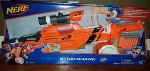 Brand New Nerf Gun N-Strike Elite Accustrike Stratohawk for Sale in Nashville, TN