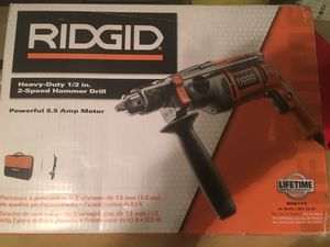 Ridgid hammer drill for Sale in McAllen, TX