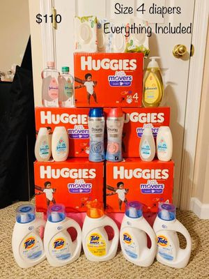 Huggies Baby Diapers/ Baby laundry Detergents/Wipes for Sale in Nottingham, MD