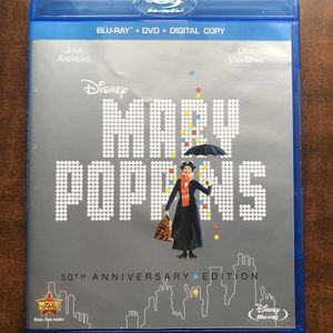 Disney Mary Poppins Blu-ray Plus DVD 2 CDS 50th Anniversary Edition for Sale in Pittsburgh, PA