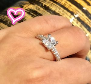S925 Silver Princess Cut Promise Ring for Sale in Castro Valley, CA