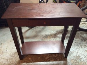 Wooden hutch, side table, small desk, hallway catch for Sale in Weston, FL