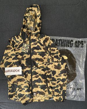 Bape 1st camo lightweight jacket size M for Sale in Daly City, CA