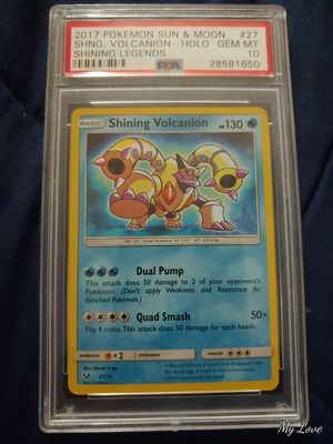 Shining volcanion psa 10 for Sale in Vista, CA