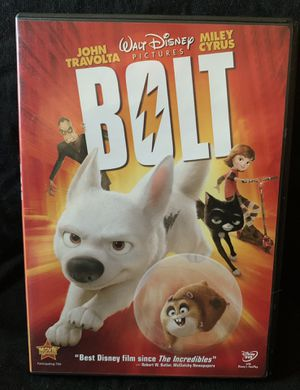 Bolt DVD for Sale in Lexington, SC