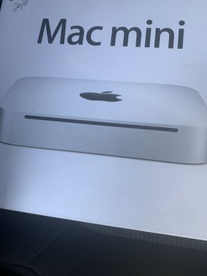 Apple Mac mini and a blue tooth keyboard for Sale in Bakersfield, CA