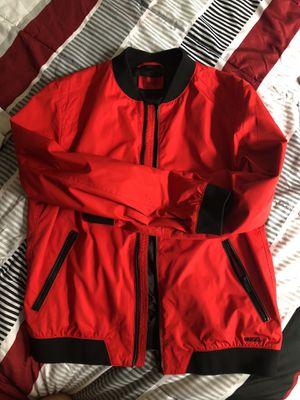 Red Hugo Boss bomber jacket for Sale in Vienna, VA