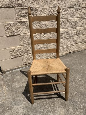Vintage antique ladder back chair for Sale in Arlington, TX