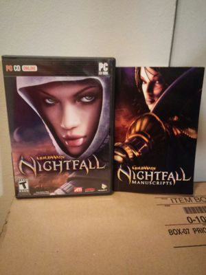 PC CD Guild Wars Nightfall for Sale in Pittsburgh, PA
