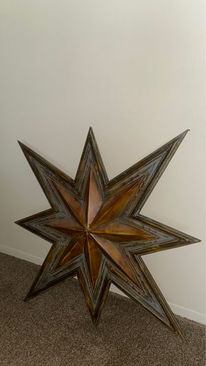 Metal art piece for Sale in SELFRIDGE, MI