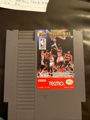 Tecmo NBA Basketball Nintendo NES for Sale in Tucson, AZ