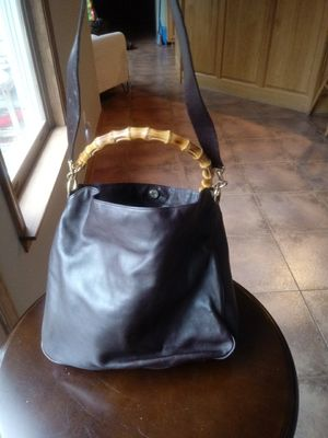 Gucci t Brown Bamboo Bag for Sale in Washington, DC