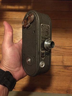 1936 Keystone K-8 8mm movie camera, spring loaded for Sale in Belmont, MA
