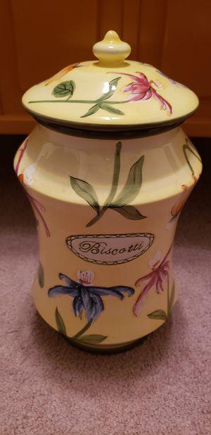 Nonni's Biscotti Jar for Sale in Washington, PA