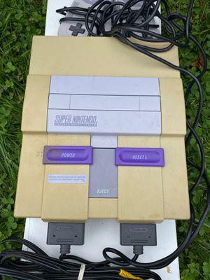 Super Nintendo Entertainment System for Sale in Woodbridge Township, NJ