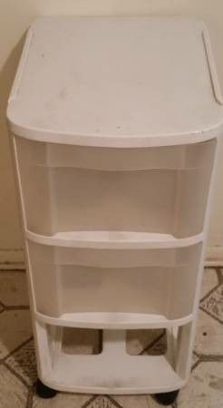 Sterlite Plastic Storage Roller Furniture Shelf Drawer Cabinet for Sale in Queens,  NY