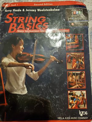 Strings Basics second edition for Sale in Rialto, CA