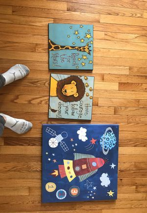 Wall painting for kids room, fine Art! for Sale in Richmond, VA