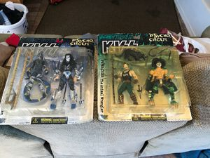 1998. 4 Kiss Psycho Circus figures for Sale in Vancouver, WA
