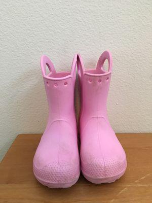 Crocs kids rain boots for Sale in Portland, OR