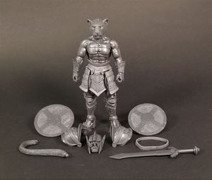 Mythic Legions Rare Test Shot Cowarros Action Figure for Sale in Costa Mesa, CA