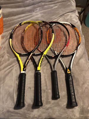 Tennis racquets and Competition Bags for Sale in Greensboro, NC