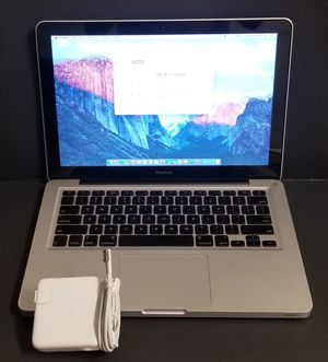 "Apple MacBook A1278 13"" Laptop 2GHz Intel Core 2 Duo, 8GB Ram, 250GB SSD Drive for Sale in Dallas, TX"
