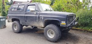 1985 Chevy k5 blazer for Sale in Edgewood, WA