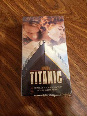 Titanic VHS for Sale in San Antonio, TX