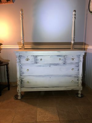 Shabby Chic Vintage Antique Dresser for Sale in Chino, CA