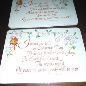 Vintage American Greetings Christmas Postcards for Sale in Palmetto, GA