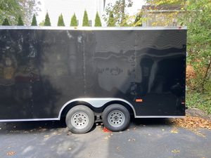 8.5 x 16 VNose Enclosed Trailer for Sale in Shelton, CT