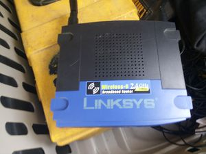 Linksys internet router for Sale in Sioux Falls, SD