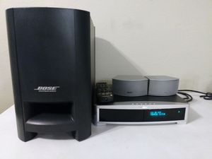 Bose 321 Series II system with Receiver, Acustimas Subwoofer, 2 speaker, and Remote for Sale in Phoenix, AZ