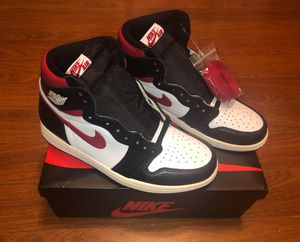 Jordan 1 Retro High Black Gym Red for Sale in Temple City, CA