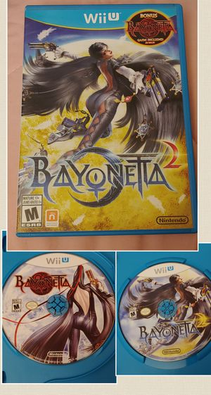 NINTENDO Wii U BAYONETTA 1& 2 EDITION 100%💥💥 for Sale in Escondido, CA