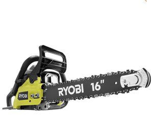 RYOBI 16 in. 37cc 2-Cycle Gas Chainsaw with Heavy-Duty Case for Sale in St. Petersburg, FL