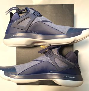 NIKE AIR JORDAN FLY '89 LUNARION MIDNIGHT NAVY 940267-401 MEN SIZE 11.5 SHOE NEW for Sale in Zachary, LA