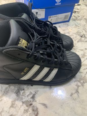 Adidas superstar Pro Model C Size 2 (BY4395) for Sale in Washington, DC