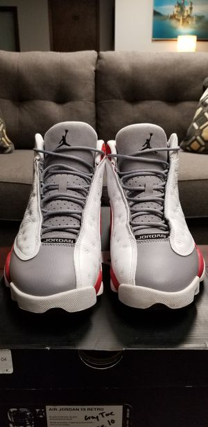 Jordan Grey Toe 13s (size 10) for Sale in Woodbury, MN