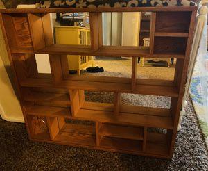 Oak Mirrored Shadow Box for Sale in Kent, WA