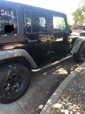 2008 Jeep Wrangler 4 door for Sale in San Jose, CA