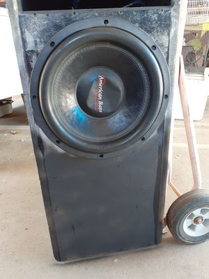 Subwoofer 12 for Sale in Fresno, CA
