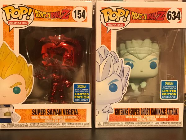 Dragon Ball Z SDCC 2019 Shared Exclusive Funko Pop